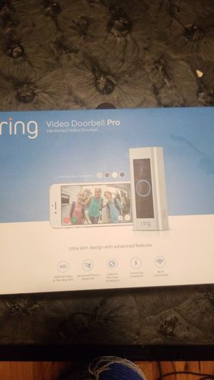 Ring Video Doorbell Pro for Sale in New York, NY