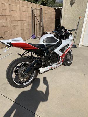 2007 Suzuki gsxr 750 motorcycle street bike for Sale in Rancho Cucamonga, CA