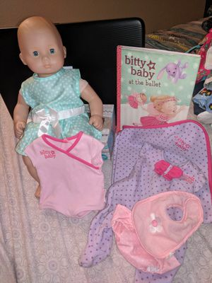 American Girl Doll *Bitty Baby* Blonde/Blue for Sale in Las Vegas, NV