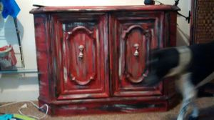 2 piece, painted to match , dresser and multi-purpose useful stand and storage inside storage. for Sale in Liberty, TX