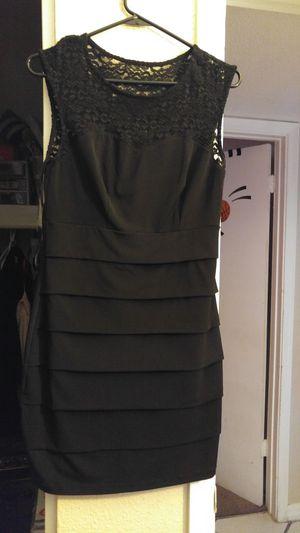Black dress size large for Sale in Phoenix, AZ