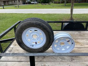 ST205/75D15 trailer tire and rim for Sale in Ruskin, FL