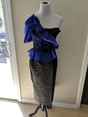 Black and Blue Prom Dress for Sale in Pleasant Hill, CA