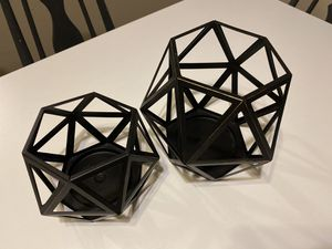 Geometric candle holders for Sale in Denver, CO