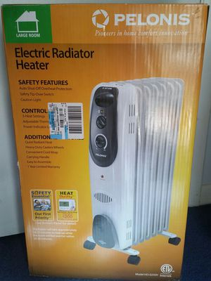 Brand new, pelonis electric radiator heater for Sale in Harrisonburg, VA