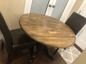 Dining table with 2 chairs for Sale in Portland, OR
