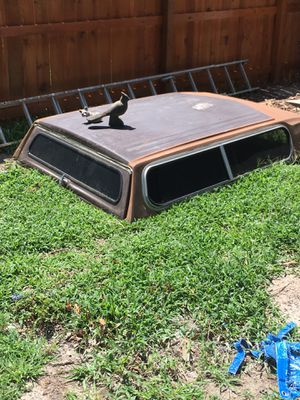 FREE - 1970ish camper shell for Ranchero for Sale in Norfolk, VA