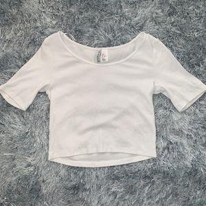 White Crop Top, Size: Medium for Sale in Aurora, CO