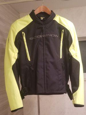 Scorpion Men's Yellow / HiVis Motorcycle Jacket for Sale in Boca Raton, FL