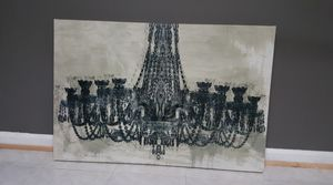 Canvas print chandelier for Sale in Annandale, VA
