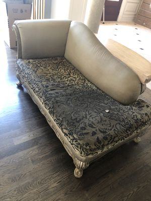 Designer Piece chaise Sofa for Sale in Leesburg, VA