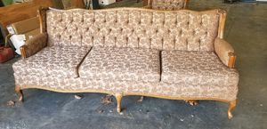 Antique sofa and chair for Sale in Chesterfield, VA