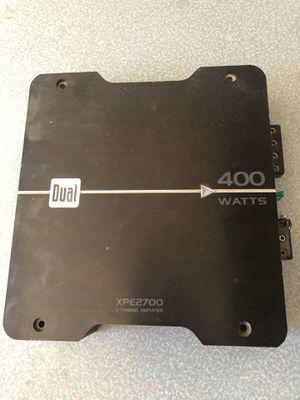 Daul 400 watt amp fs for Sale in Perris, CA