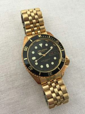 Vintage Gold Helbros Dive Watch Rare for Sale in Philadelphia, PA