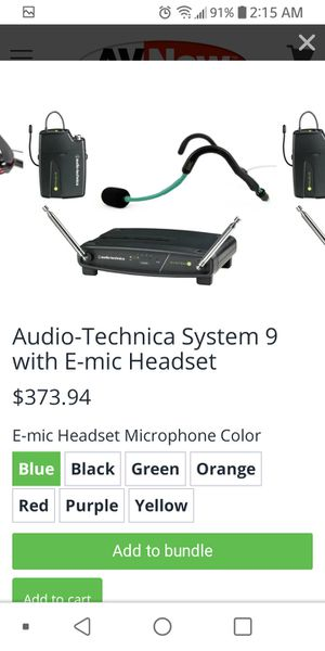 audio -technica system 9 brand new box box never been open must pick up for Sale in Washington, DC