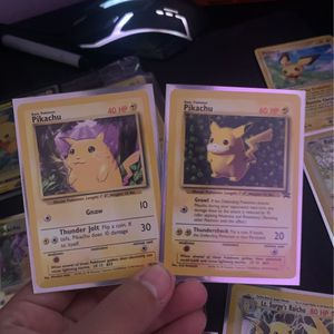 Two 1999 Pikachu for Sale in Bunker Hill, WV