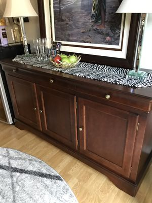Cherry Buffet Cabinet for Sale in Fremont, CA