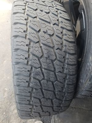 Nitto Grappler G2 ***Tires Only*** X4 305/45/22 like new! for Sale in Seattle, WA