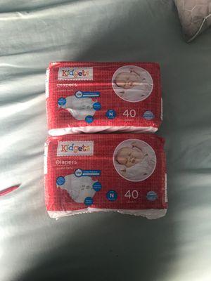 Kidgets newborn diapers for Sale in Palmdale, CA