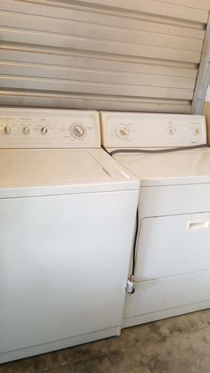Kenmore Super Capacity Plus Washer And Dryer Set for Sale in Kent, WA