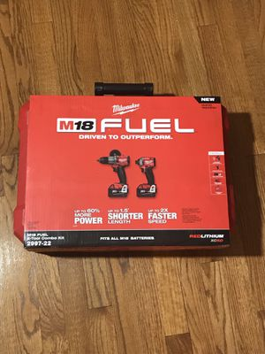 Milwaukee M18 Fuel 2-Tool Combo Kit 2997-22 for Sale in Ashburn, VA