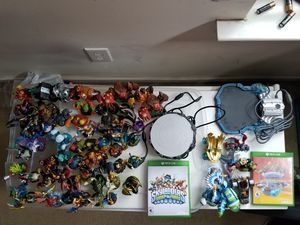 Skylanders swap force & superchargers for( Xbox one) bundle for Sale in Holly Springs, NC