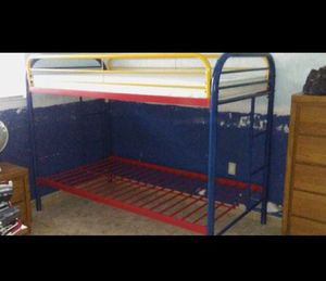 Bunk bed. With top mattress for Sale in Hialeah, FL
