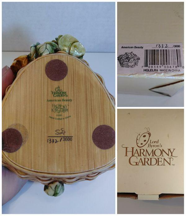American Beauty 'Harmony Garden' Ltd. Ed. Figurine