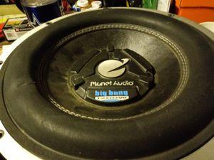 12 inch Planet Audio for Sale in Santa Maria, CA