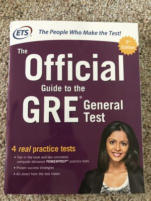 GRE Test Prep Gen Test, Verbal and Quantitative Reasoning Books for Sale in Normal, IL