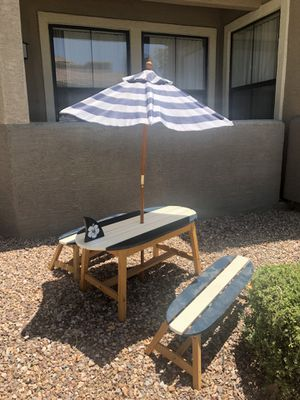 Children's Surfboard Picnic Bench for Sale in Phoenix, AZ