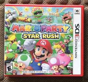 3DS Mario Party Star Rush for Sale in Maricopa, AZ