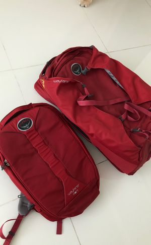 Travel/ camping Osprey backpack 70lts for Sale in Miami, FL