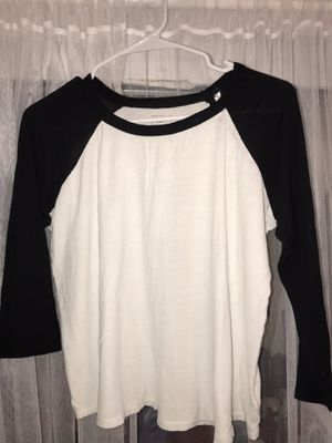 Black and White Baseball Tee for Sale in Seattle, WA