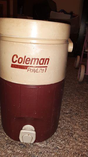 Coleman Jugs Vintage Coleman Polylite cooler beverage dispensers for Sale in Berwick, PA