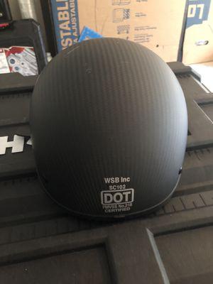 Carbon fiber matte finish helmet- Med for Sale in Bellevue, WA