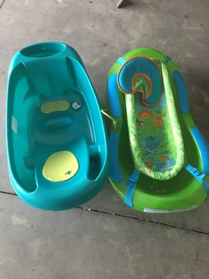 2 baby tubs for sale for Sale in Savannah, GA