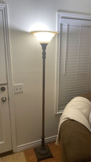 Floor lamp brownish bronze for Sale in Ontario, CA