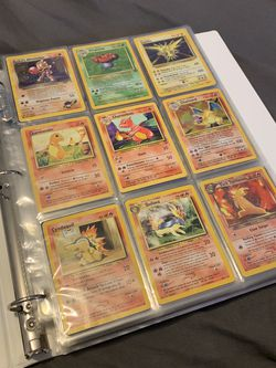 Pokemon Cards For Sale Whole Binder With Charizard And Holos for Sale in Portland,  OR