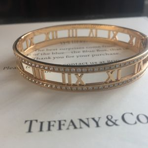 Gold Bracelet From Tiffany 18 K With Real Diamonds for Sale in Mission Viejo, CA