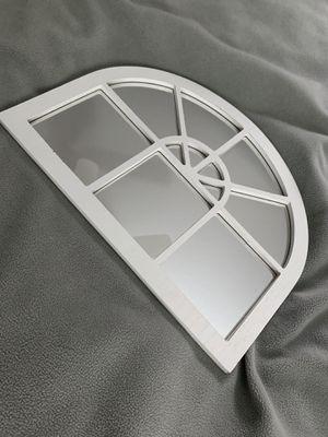 Farmhouse white arch mirror for Sale in Glendora, CA
