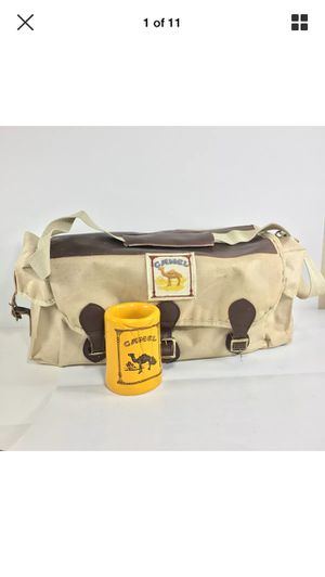 Vintage Camel cigarettes shoulder bag messenger joe cool for Sale in Austin, TX