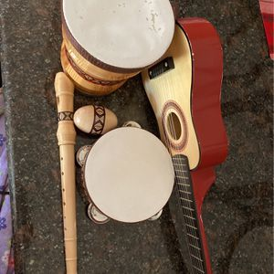 Kids Drum And Guitar Set for Sale in Stockton, CA
