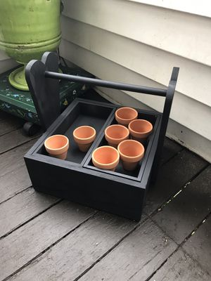 Mini Herb garden or flower garden box (indoor/outdoor) for Sale in North Providence, RI