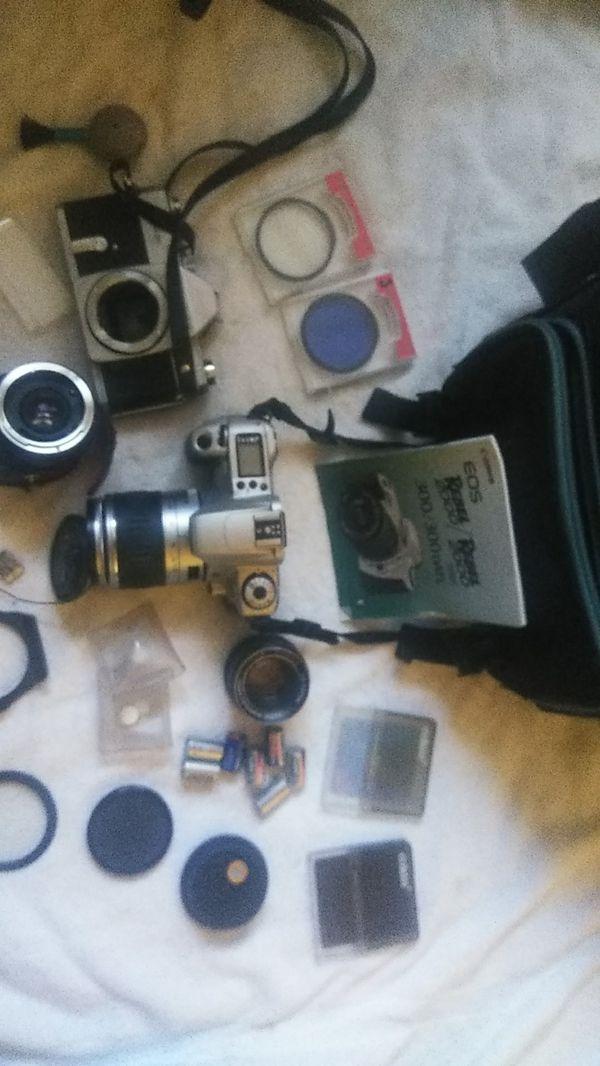 Canon Cameras lenses