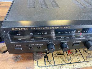 Optimus STA-20 Am/Fm Stereo Receiver for Sale in Cooper City, FL
