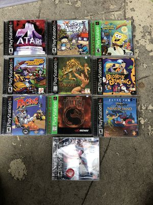 Playstation Games for Sale in Bellflower, CA