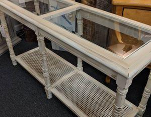 Linen White Console Table for Sale in Manasquan, NJ