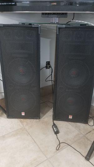 """Rockville RSG12.28 Dual 12"""" 2000 Watt 3-Way 8-Ohm Passive DJ/Pro Audio PA Speaker for Sale in Sterling Heights, MI"""