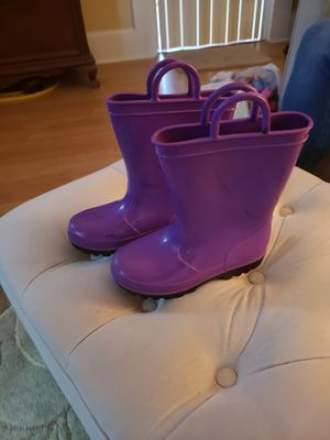 Rain boots size 10 for a kid for Sale in St. Petersburg, FL